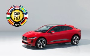 The Jaguar I-PACE has won the title of European Car of the Year 2019