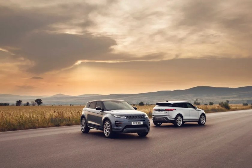 The new Range Rover Evoque goes on sale in Ireland in May priced from €42,845