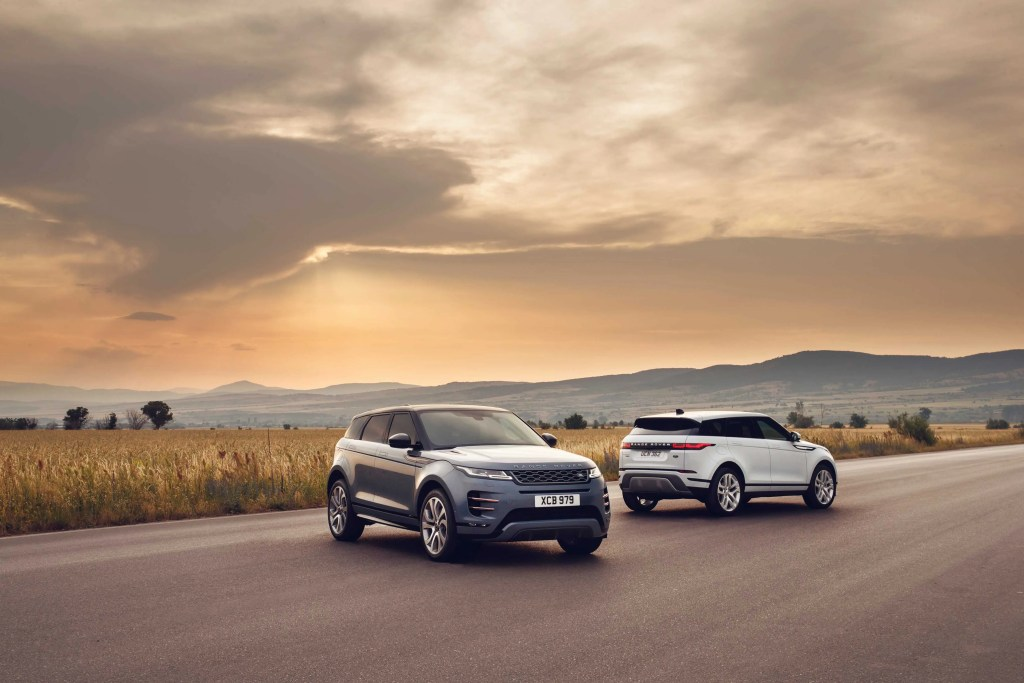 Range Rover Evoque Preview In Ireland