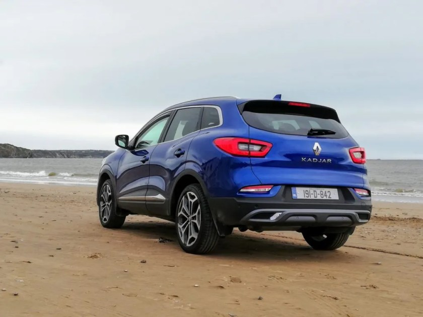 The Renault Kadjar is available from €26,995 in Ireland