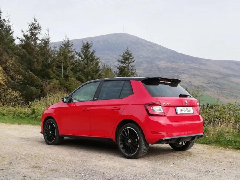 The Skoda Fabia Monte Carlo is the sportiest variant in the Fabia line-up!