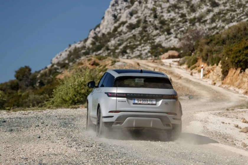 The Range Rover Evoque goes on sale in Ireland officially in May priced from €42,845