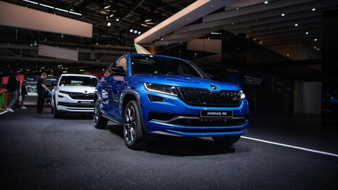 The ŠKODA Kodiaq SUV has helped to increase market share for the brand in Ireland