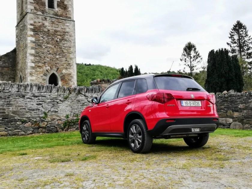 The Suzuki Vitara is available from €20,995