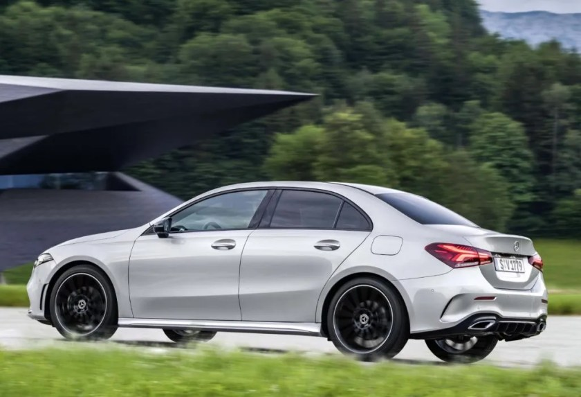 The new Mercedes-Benz A-Class Saloon goes on sale in Ireland priced from €33,390