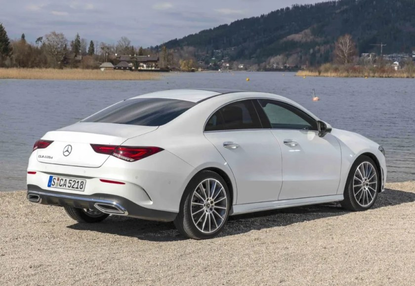 The Mercedes-Benz CLA goes on sale from €34,110