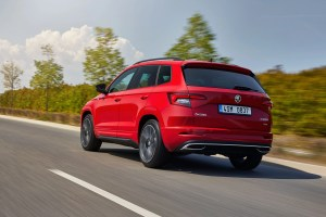 The Skoda Karoq Sportline comes with petrol and diesel engine options