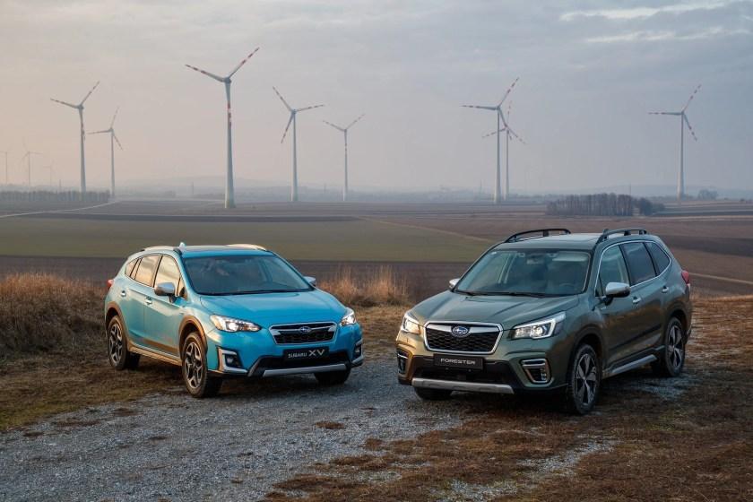 The new Subaru XV and Forester e-BOXER Hybrids