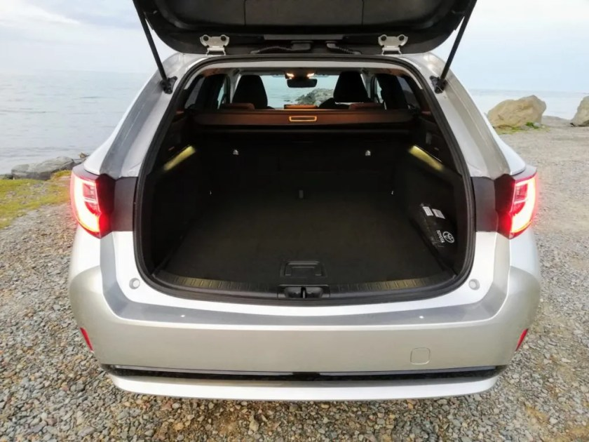 Boot space in the Toyota Corolla Touring Sports