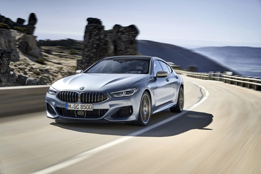 The new BMW 8 Series Gran Coupe is on the way to Ireland in September