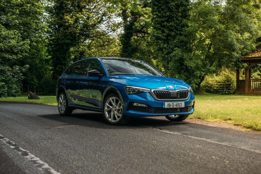 The new Skoda Scala has just arrived in Ireland priced from €23,650