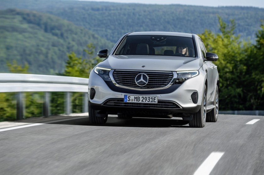 The new Mercedes-Benz EQC will have its official market launch in Ireland in October