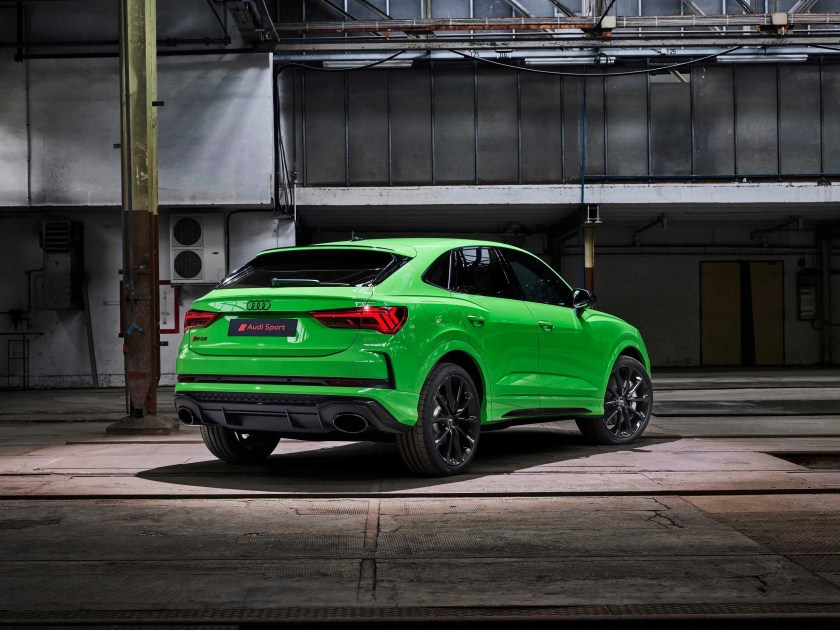 The RS Q3 Sportback will arrive in Ireland by the end of 2019