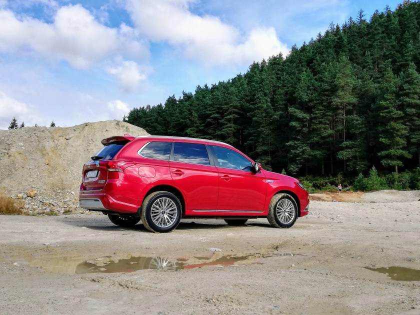 The Outlander PHEV has a new engine and improvements to hybrid powertrain