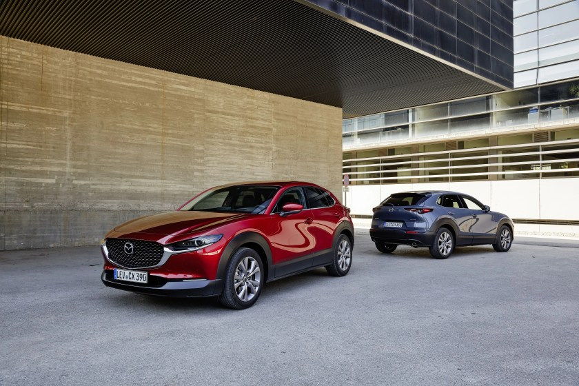 The new Mazda CX-30 will be in dealers from the December