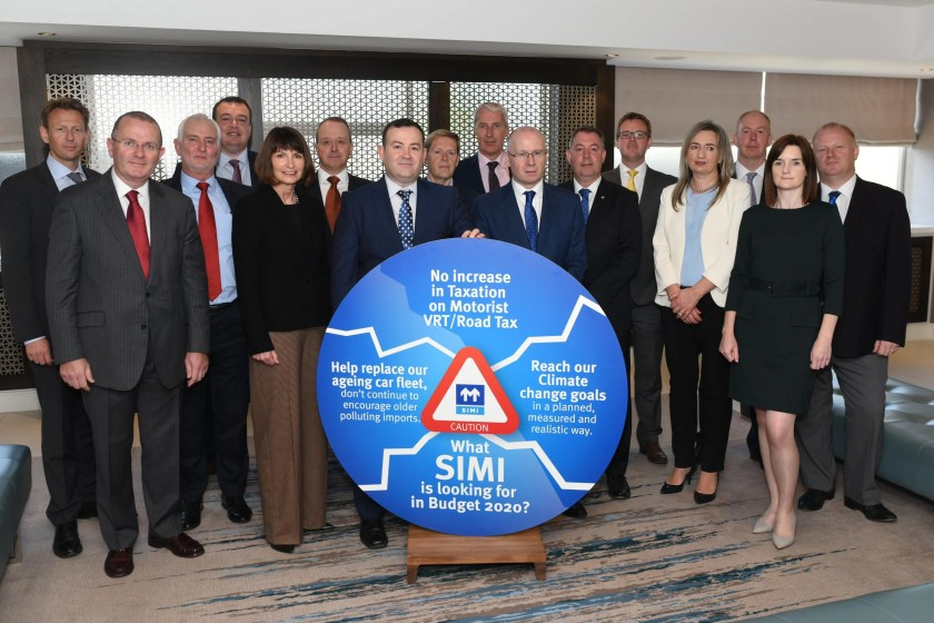 SIMI and leading Car Manufacturers call for no increases in VRT for Budget 2020