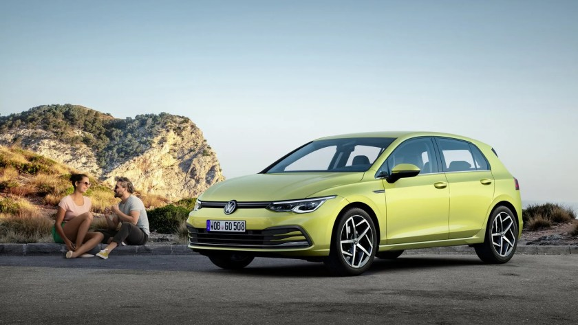 The new Volkswagen Golf expected in Ireland in 2020