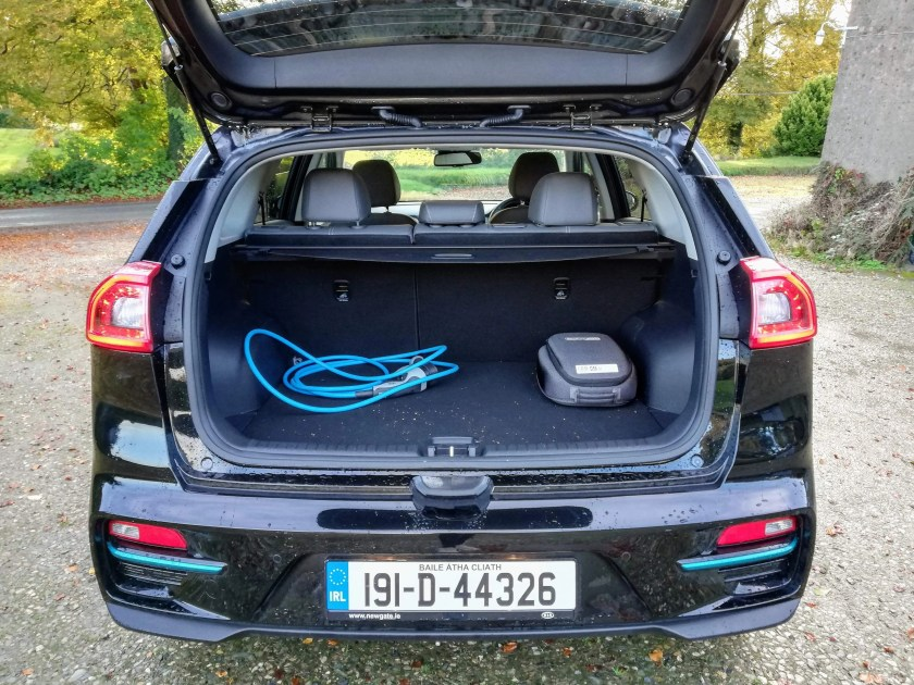 The Kia e-Niro is one of the more practical electric vehicles on the market right now