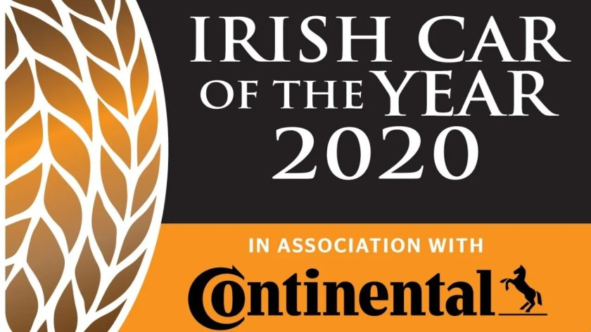 2020 Continental Tyres Irish Car of the Year Launched!