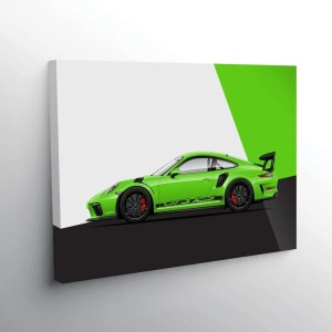 Browse the car art collection including high performance classics like the 911 GT3