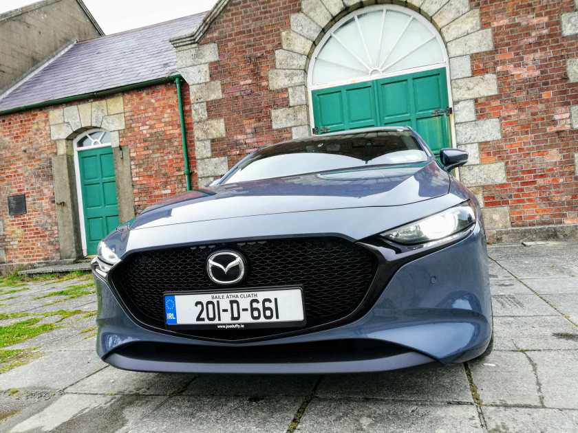 The new Mazda3 Skyactiv-X