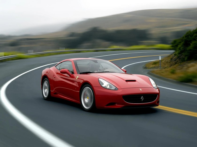 The Ferrari California features 6 times