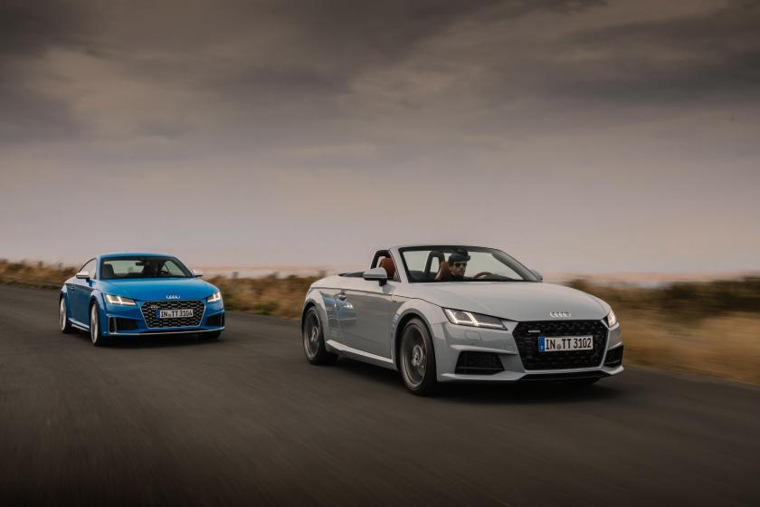 The Audi TT remains a modern classic