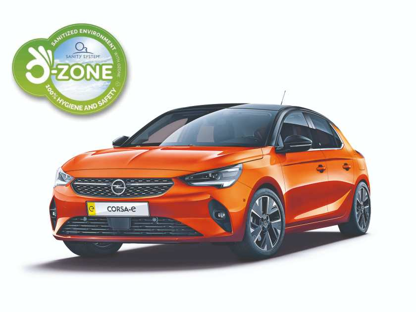 Opel is taking hygiene measures to secure the safety of staff and customers once showrooms reopen