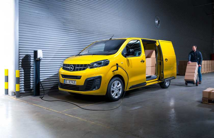 The new Vivaro-e, Opel's first electric van!