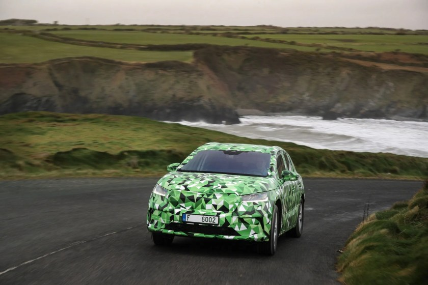 The new Skoda Enyaq on test in Ireland