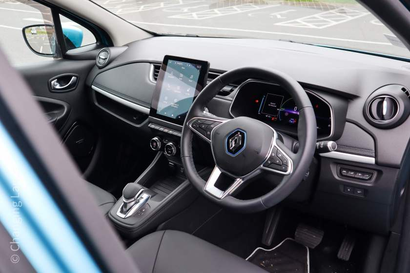 Inside the new Renault ZOE