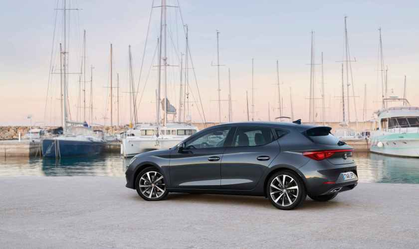 The Leon will be available in Ireland with petrol and diesel engines, with mild hybrid technology featuring for the first time