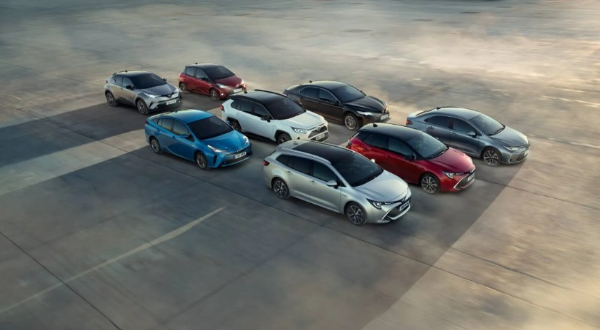Toyota cars are selling well in 2020, it's the number 1 brand in Ireland