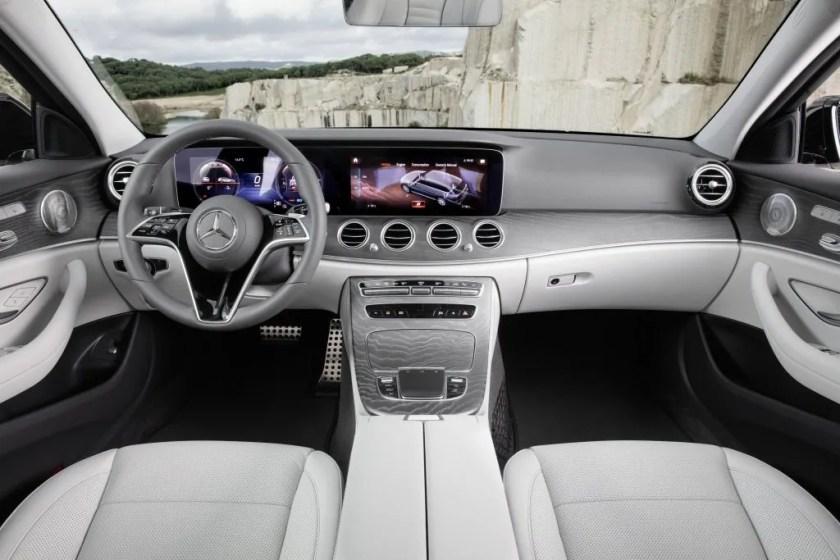 Inside the 2020 Mercedes-Benz E-Class