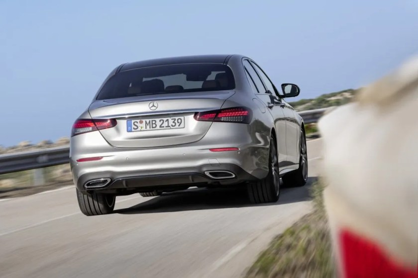 The new E-Class is on sale in Ireland now