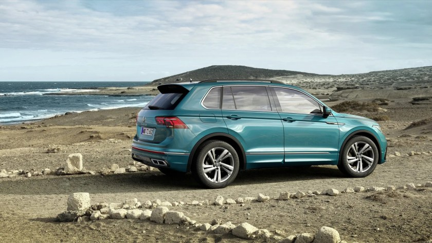 The new Tiguan will be available with petrol and diesel engines, with a plug-in hybrid on the way in 2021