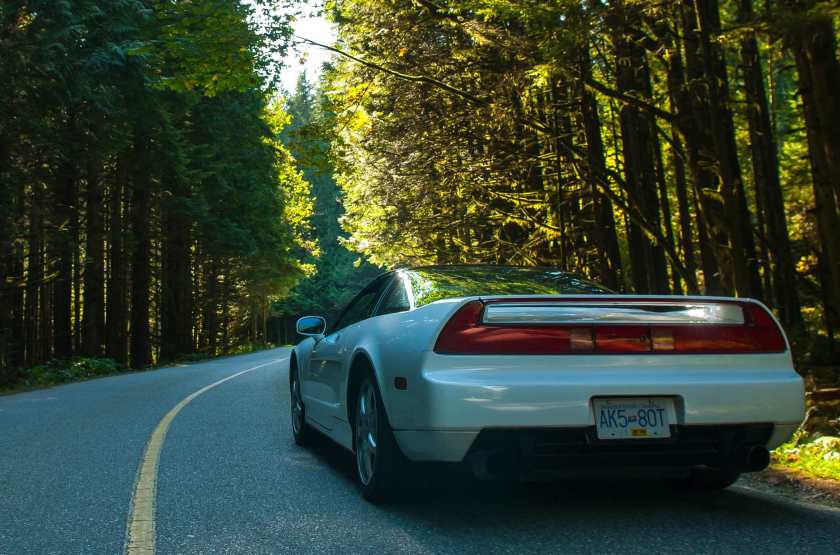 The Honda NSX classic mid engined supercar