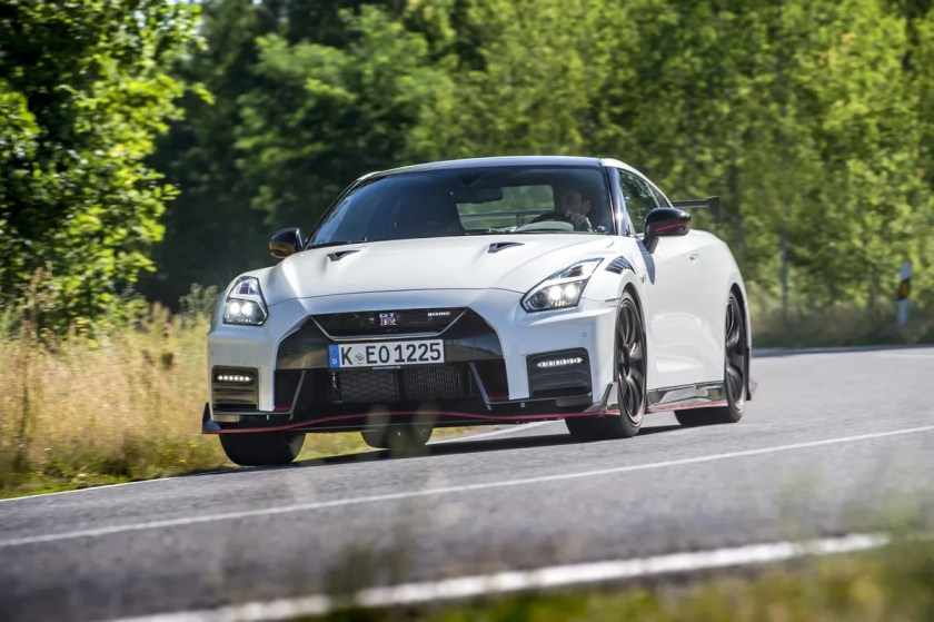 The iconic Nissan GT-R, another favourite of Melina's