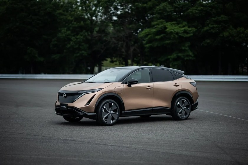 The new Nissan Ariya expected in Ireland in 2021