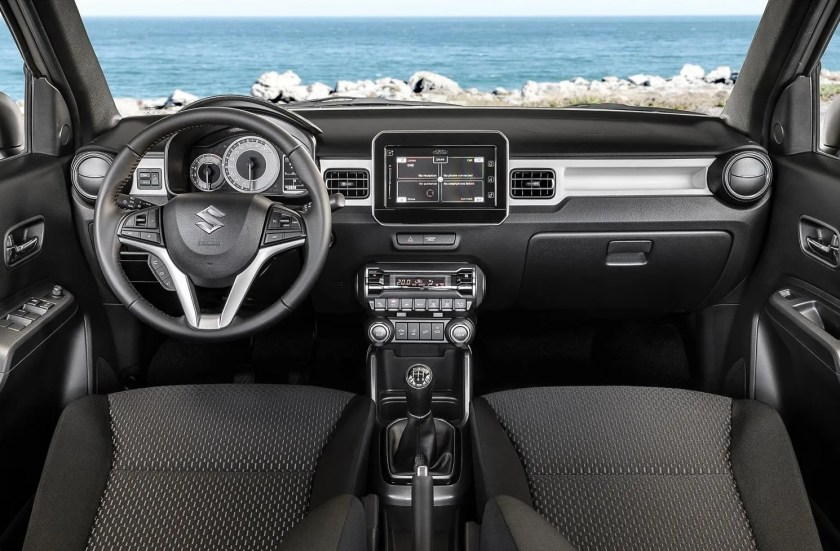 The interior of the Ignis