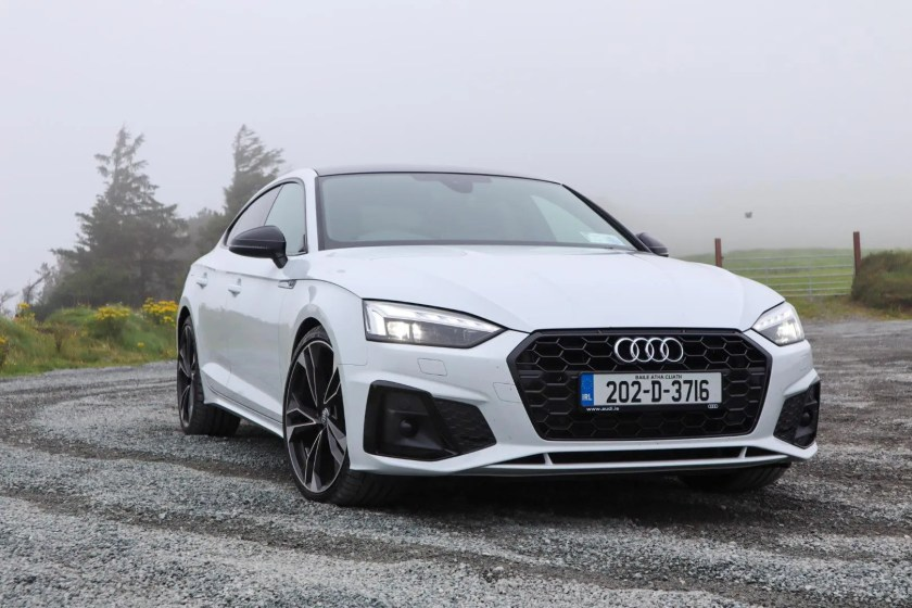 The 2020 Audi A5 Sportback on test for Changing Lanes!