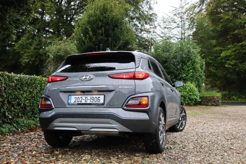 The Kona Hybrid is cheap to run with lower emissions