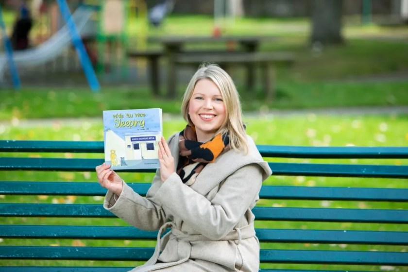 Caroline Kidd, editor of Changing Lanes, launches new children's book 'While You Were Sleeping'