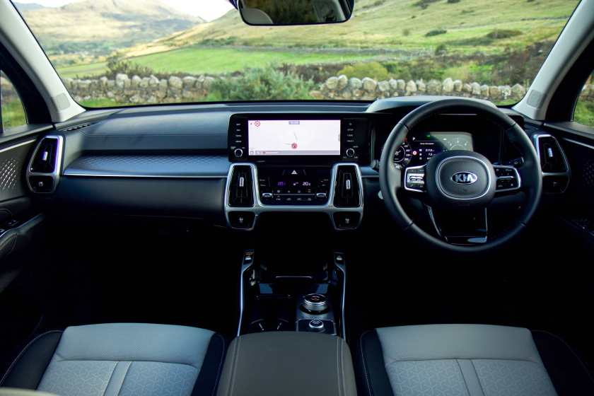 Inside the new Kia Sorento