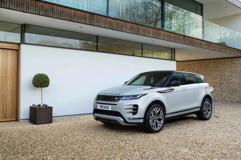 Land Rover will launch a range of plug-in hybrids, including the Range Rover Evoque