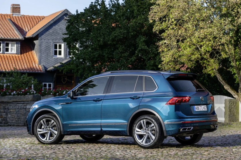 The latest version of the Volkswagen Tiguan goes on sale priced from €31,510 RRP