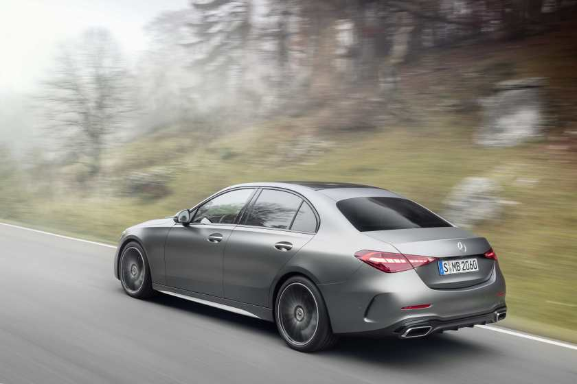 Petrol, diesel and hybrid for the new C-Class