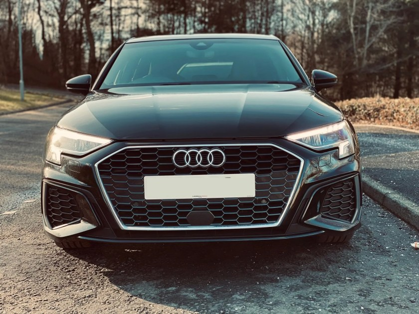 Laura drives the latest generation of the popular A3 Sportback
