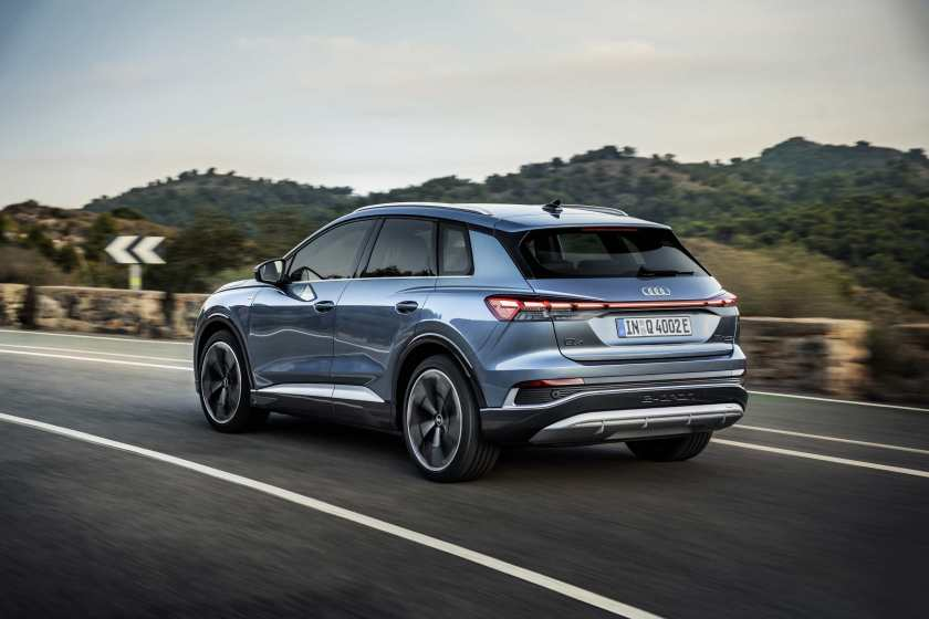 The new Audi Q4 e-tron will arrive in Ireland this summer