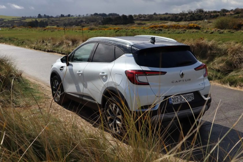 The Captur E-TECH is powerful and efficient